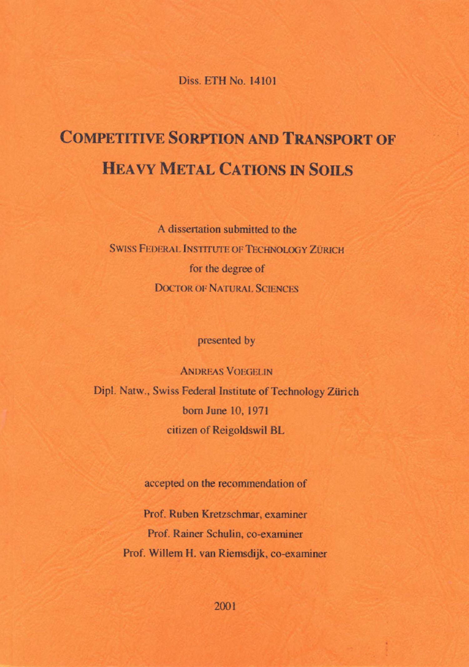 robin pesch dissertation